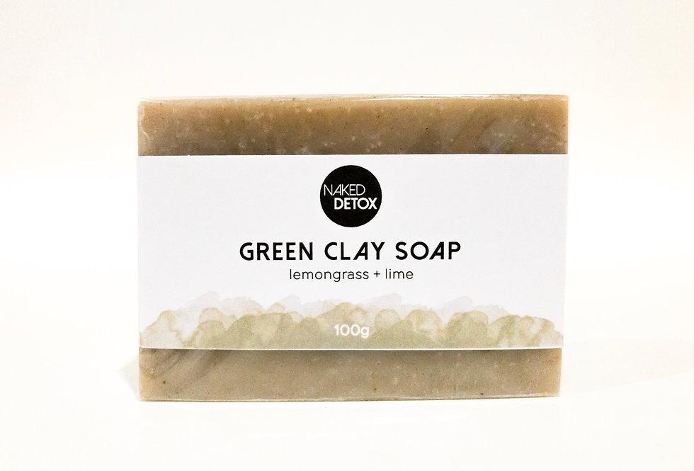 Green Clay Soap Bar