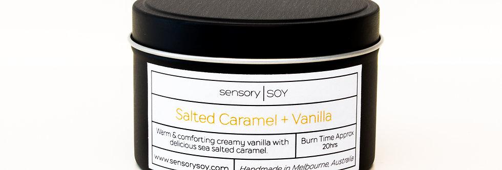 Salted Caramel + Vanilla