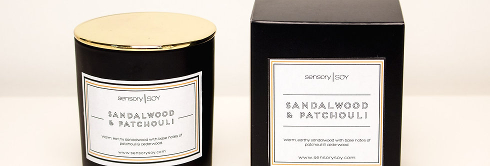 Sandalwood & Patchouli Candle