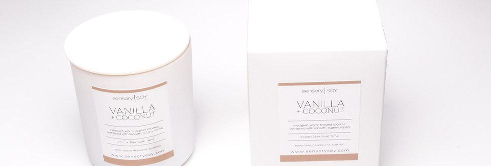Vanilla + Coconut