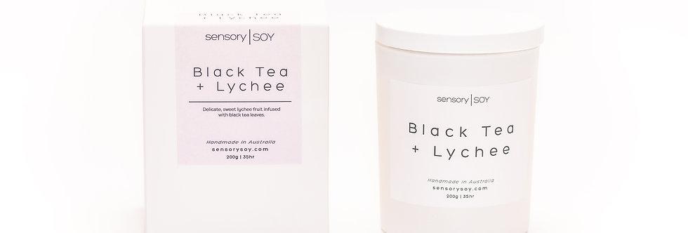 Black Tea + Lychee