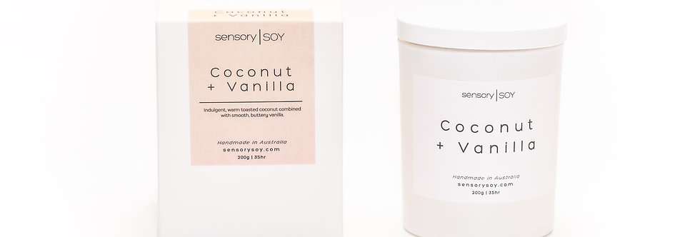 Coconut + Vanilla