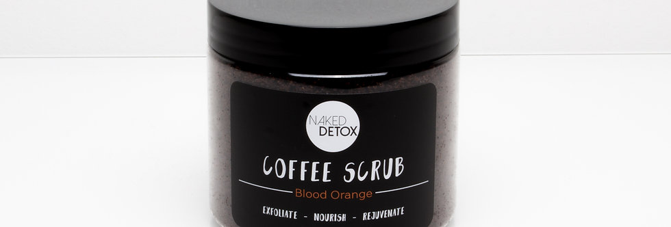 Blood Orange Coffee Body Scrub