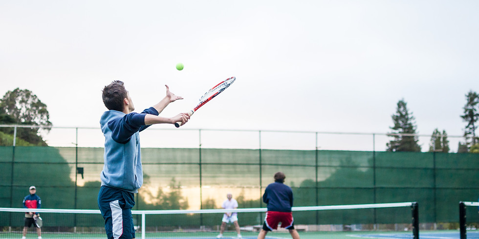 Tennis with Jesse and Dylan