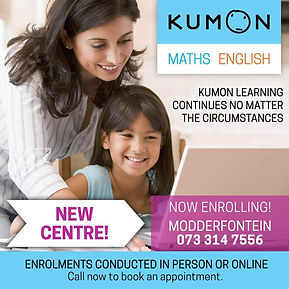 Kumon Modderfontein Greenstone Kempton P
