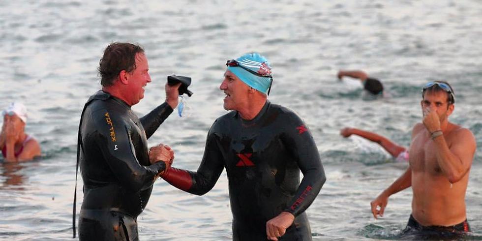 Ocean Swim with Jon and Michael