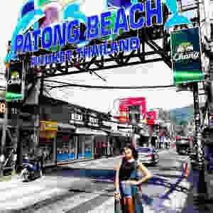 Bele (@Caballo_De_Calesita) en Patong Beach