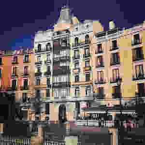 Clásica arquitectura de Madrid