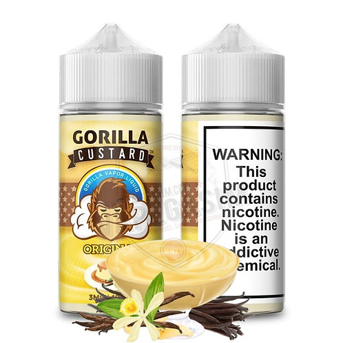 Gorilla Vapes - Original Custard