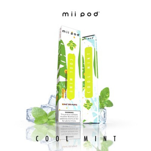 Mii Pod Disposables - Cool Mint Refresh