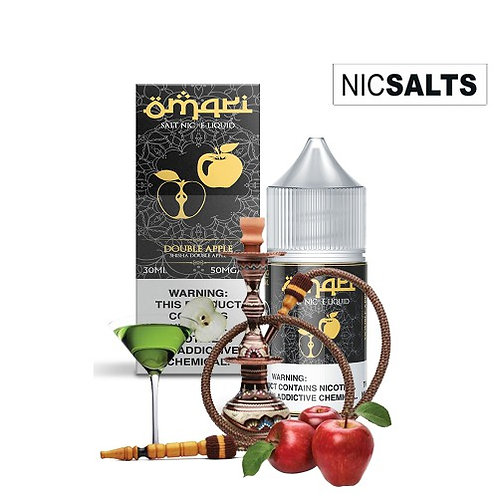 Omari Salts - Double Apple Shisha (30MG)