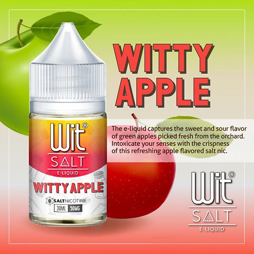 WIT Salts - Witty Apple (50MG)