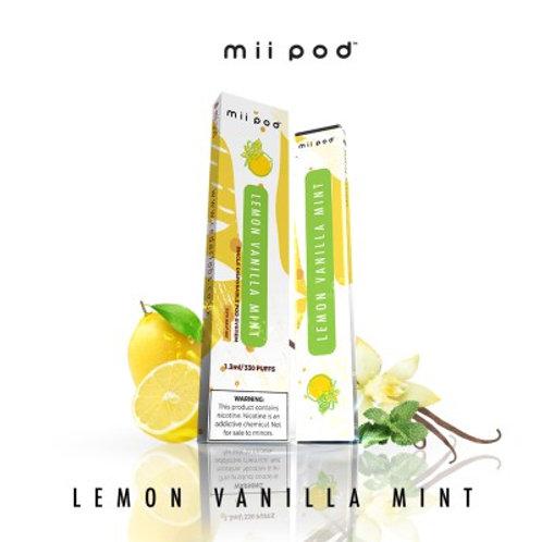 Mii Pod Disposables - Lemon Vanilla Mint