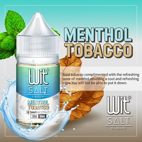 WIT Salts - Menthol Tobacco (50MG)