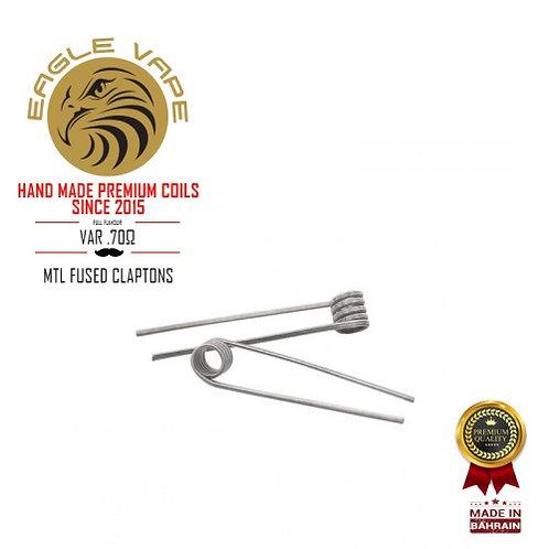 Eagle Vape - MTL Fused Clapton Coils 0.70Ω (Pair)