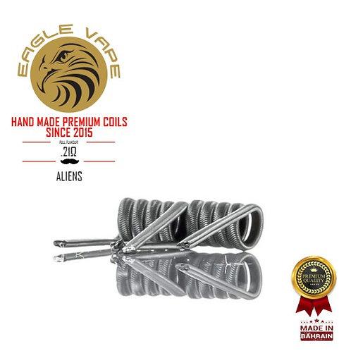 Eagle Vape - Pro Series: Alien Coils 0.21Ω (Pair)