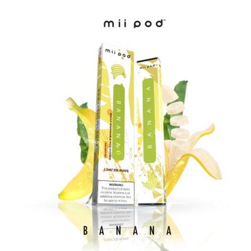 Mii Pod Disposables - Smooth Banana