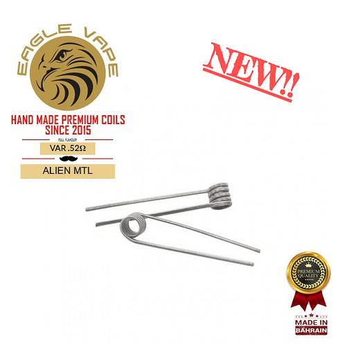 Eagle Vape - MTL Alien Coils 0.52Ω (Pair)