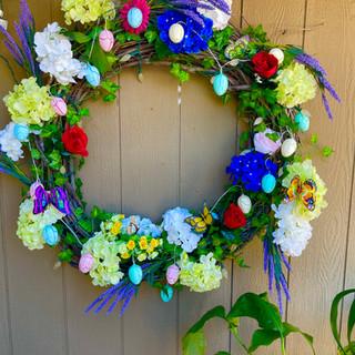 Elle's easter wreath