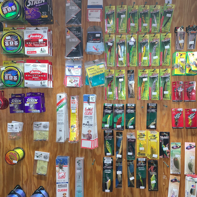 Rainbow Haven Resort Tackle Shop 9