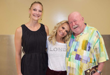 Leigh Pujado and Kristin Chenoweth at TW Theatre