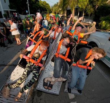 Local's Parade - Roller Coaster