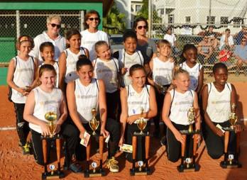 Girls Soft Ball Team Coach