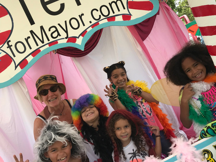 Community Party - Teri for Mayor