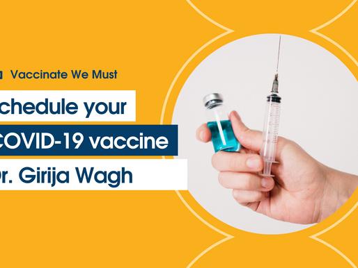 Vaccinate We Must – Dr. Girija Wagh