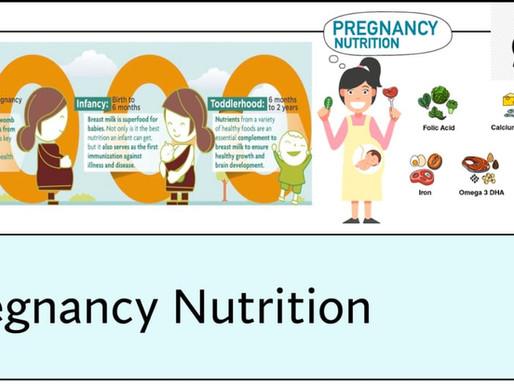 गरोदरपणातील आहाराची पहिली पायरी : मॉर्निंग सिकनेस आणि फर्स्ट 1000 डेझ संकलप।राष्ट्रीय आहार सप्थाहा