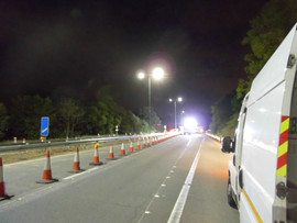 Completed Lighting Replacement Scheme