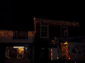 Installation of Christmas Lights