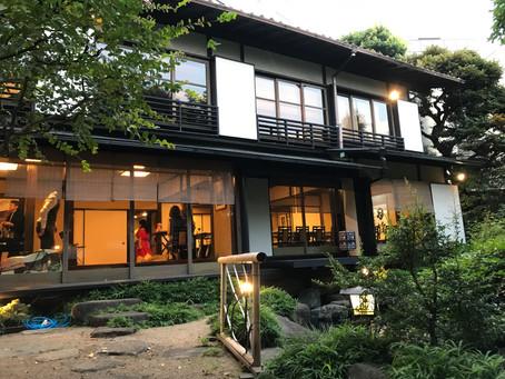 日本家屋でいただく風情ある和食