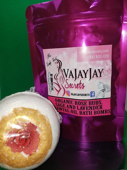 Rose buds & Lavender Bath Bombs