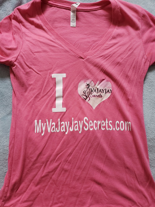 Vajayjaysecrets T shirt iron on