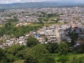 La Prefectura de Santo Domingo de los Tsáchilas estableció un área de prueba dentro de la Finca la M