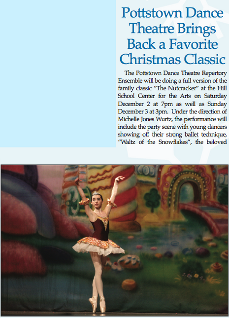 Pottstown Dance Theatre Brings Back a Favorite Christmas Classic [Article]