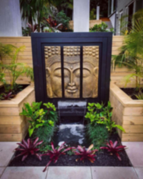 Custom fountains are a beautiful touch to a property