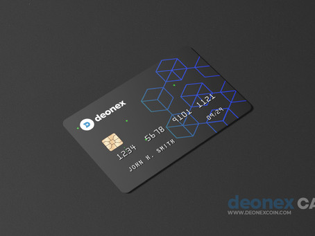 DEONEX CRYPTO CARD.