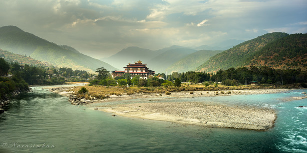 Punakha Dzong,Bhutan
