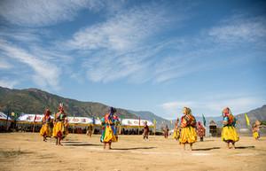Buddhist Mask Festival,Bhutan