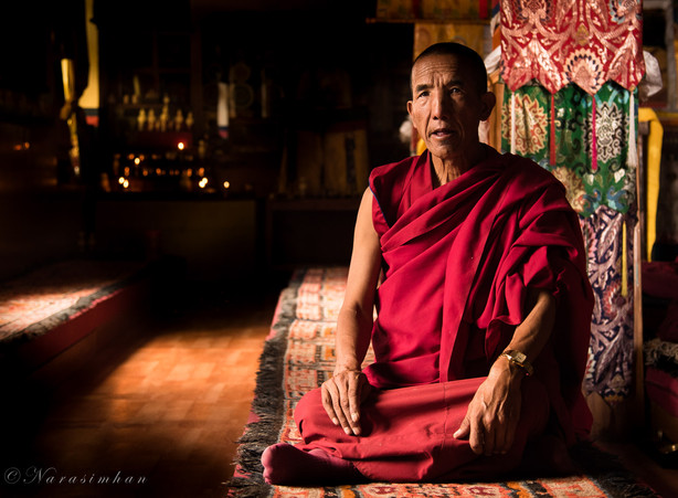 Monk from Kee Monastery