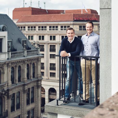 Auftragsfotografie - Portraits der Gründer und Mitarbeiter von KäuferPortal