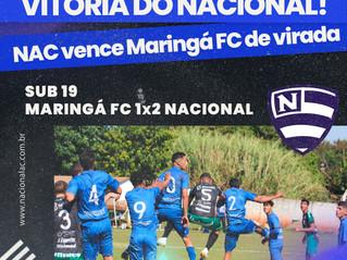 NAC vence amistoso contra Maringá F.C