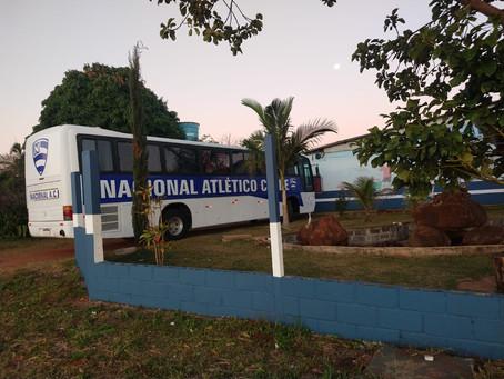 Novo ônibus personalizado do NAC