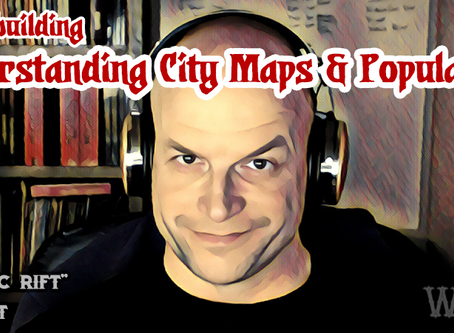 Understanding City Maps & Populations in Role-Playing Games
