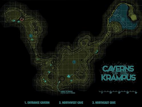 Cavern Virtual Tabletop Map