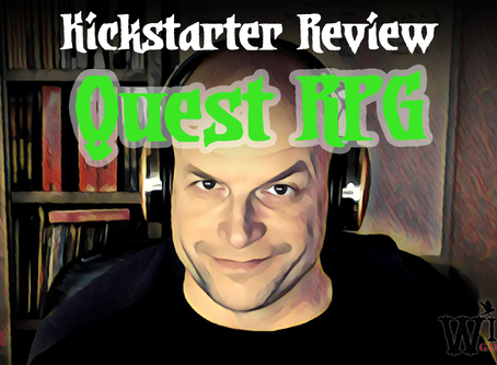 Kickstarter Review - Quest RPG