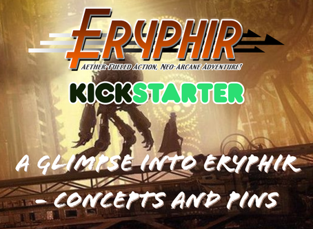 Update: A Collection of Concept Art that are helping to shape the Eryphir Campaign Setting