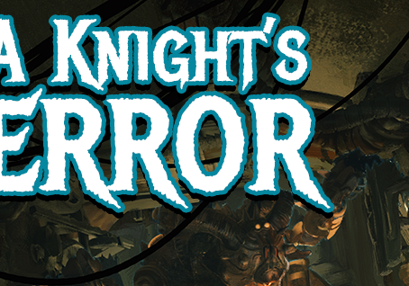 Cover Reveal for Episode 2 - A Knight's Terror!